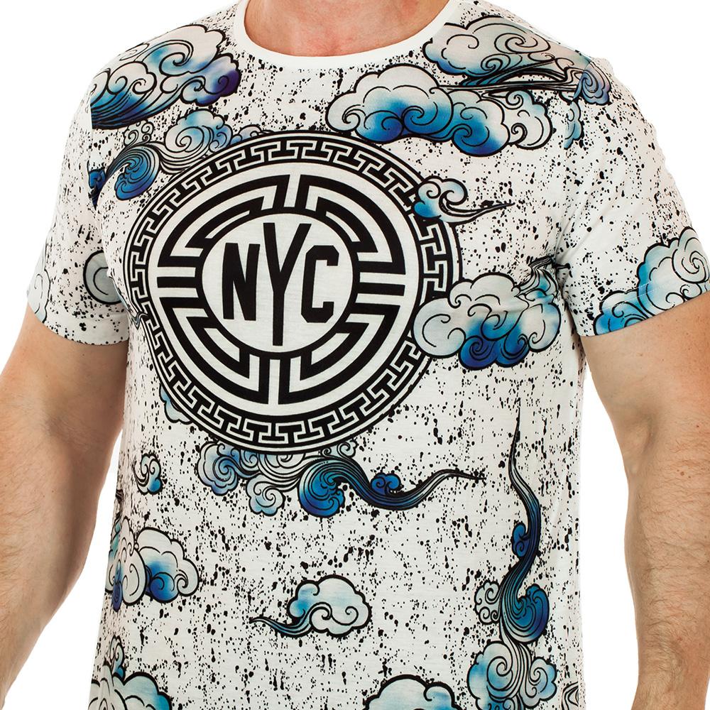 Клубная мужская футболка Splash. Твой MEN
