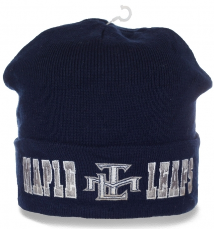 Клубная шапка болельщика Toronto Maple Leafs