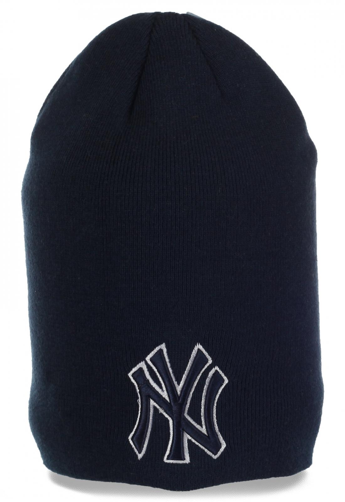 Клубная шапка фанатов New York Yankees