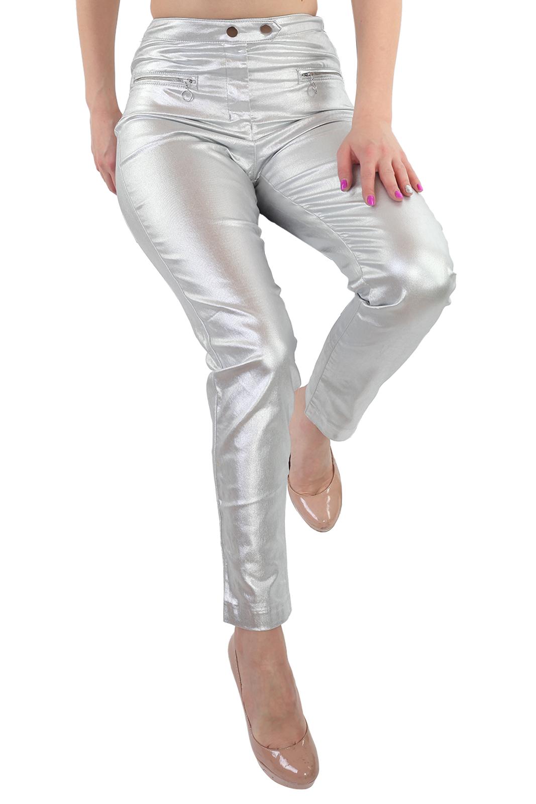 Клубные женские брюки-сигаретки