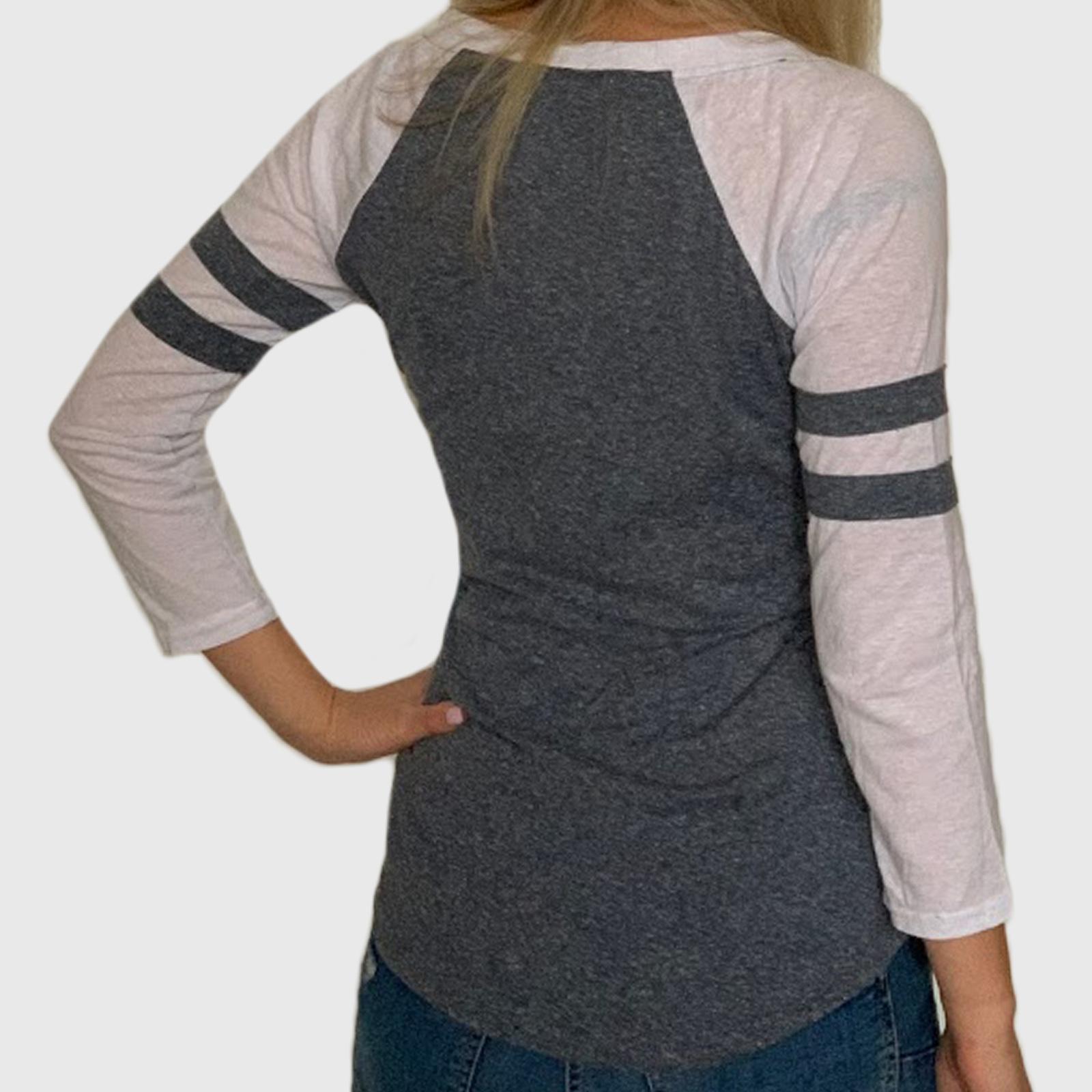 Модная женская кофта лонгслив с укороченными рукавами