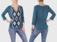 Женская этническая кофта-блуза Panhandle Slim