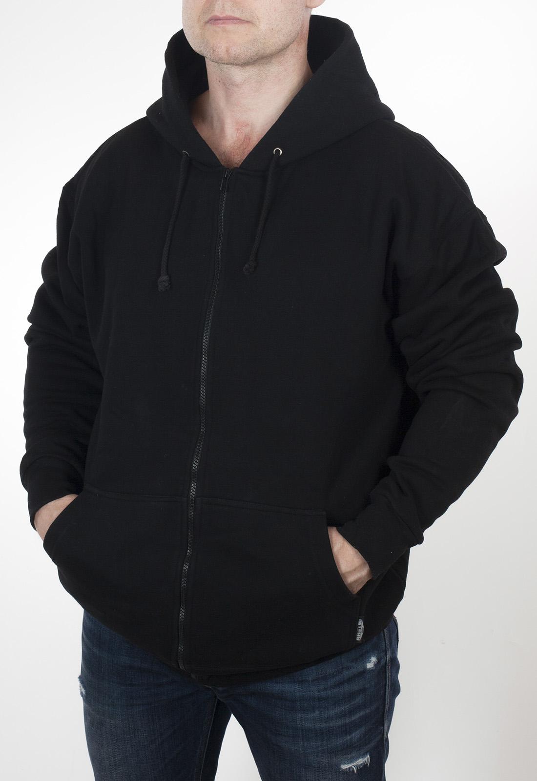 Утепленная мужская кофта худи в дизайне Спецназа ГРУ