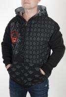 Мужская кофта худи на молнии. Стильная осень и теплая зима от бренда Pacific Flyer. Носи с джинсами, спортивными штанами, а также брюками чинос, скинни и бананами