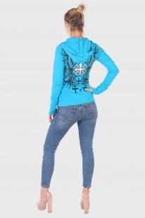 Женская кофта с капюшоном от ТМ Rock&Roll Cowgirl
