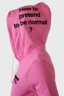 Женская кофта с капюшоном La Chapelle