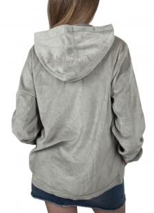 Женская кофта толстовка с карманами.