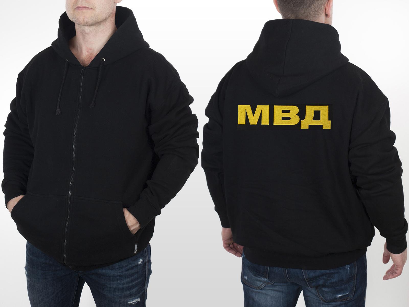 Статусная мужская кофта-толстовка МВД