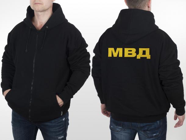 ac8f100a1c202 Статусная мужская кофта-толстовка МВД
