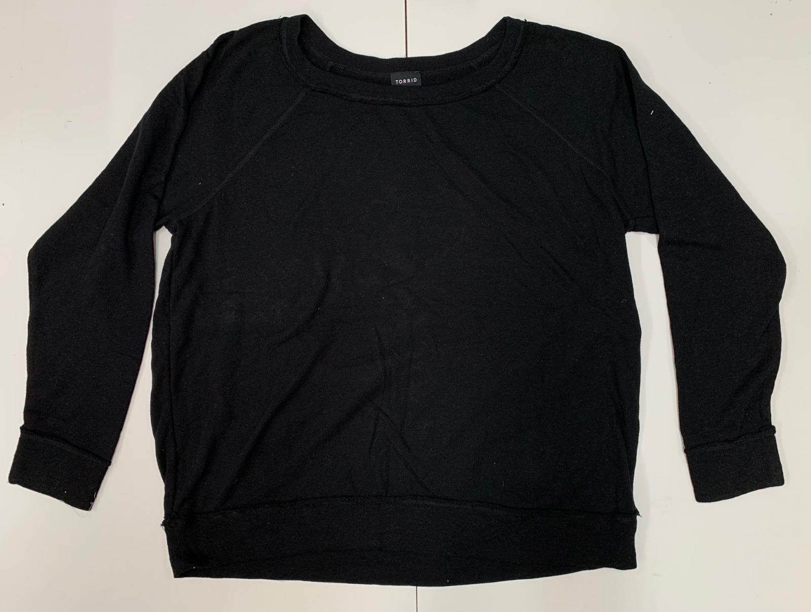Кофта трендовая женская от TORRID черного цвета
