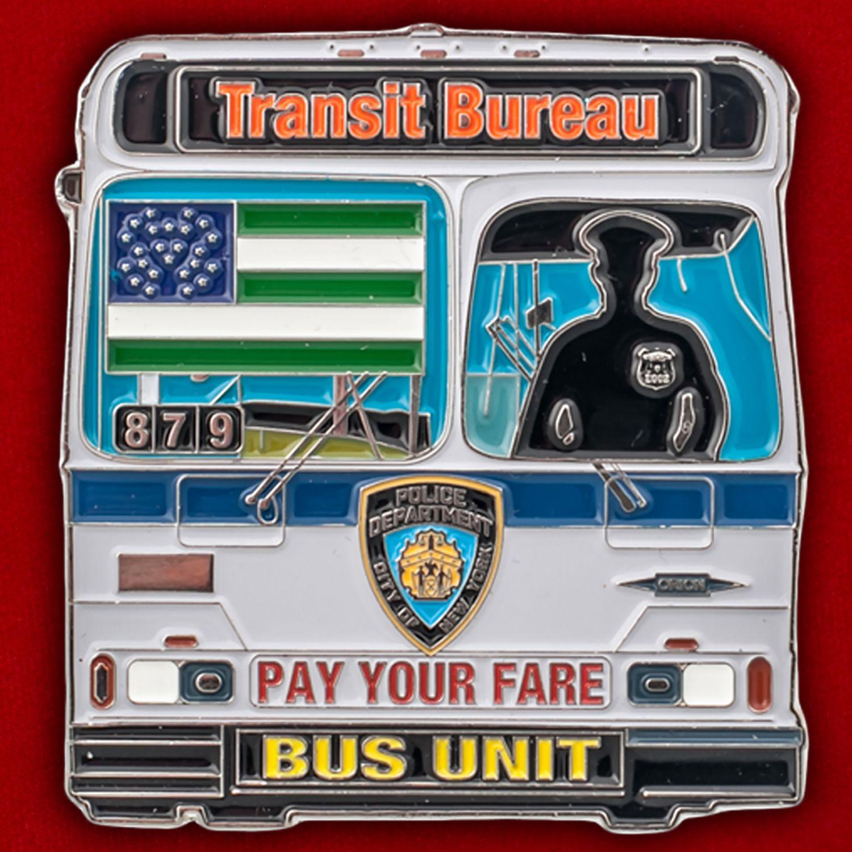 Челлендж коин Транспортной полиции Нью-Йорка