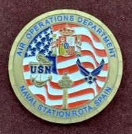 Коин Управление воздушных операций военно-морской базы Испания