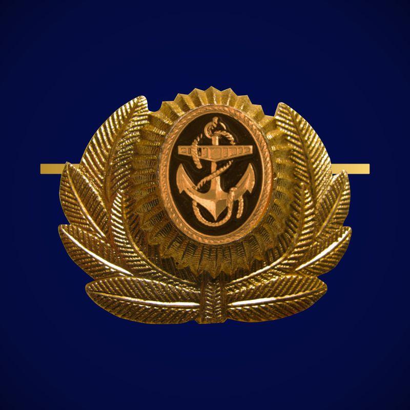 Кокарда ВМФ для мичманов и прапорщиков