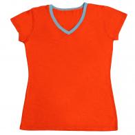 Кокетливая женская футболка для хрупких девушек