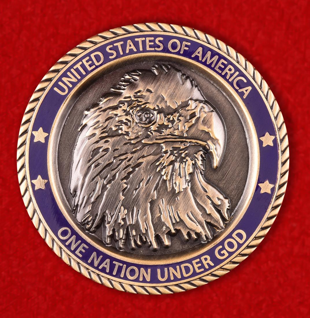 Американская коллекционная монета города Бигфорт, Монтана