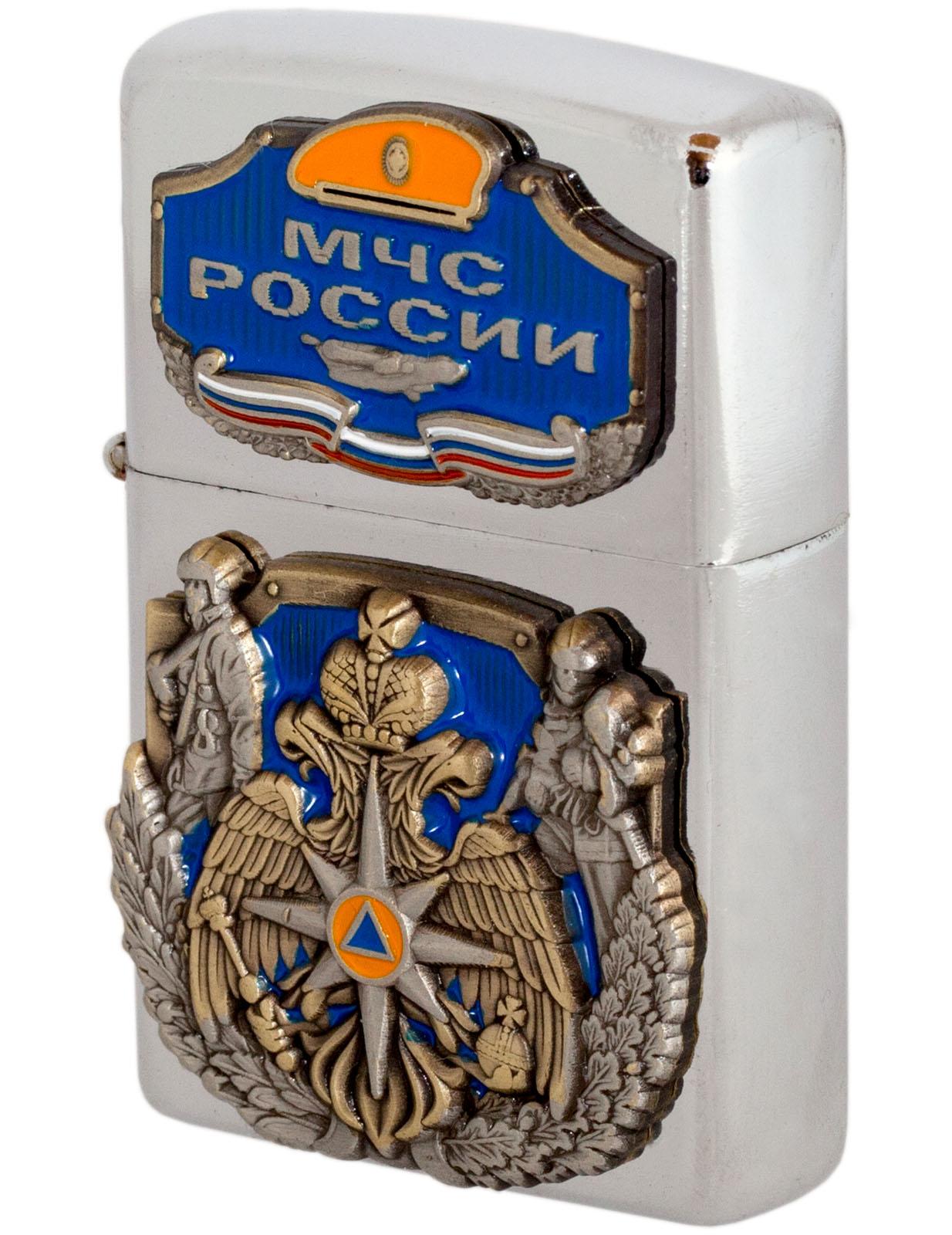 """Коллекционная зажигалка """"МЧС России"""""""