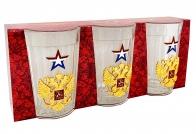 Коллекционный набор стаканов Россия