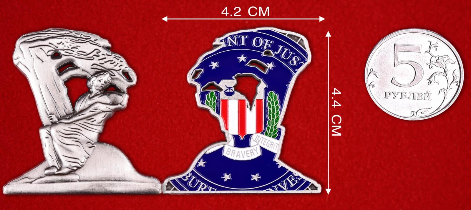 Коллекционный значок ФБР США