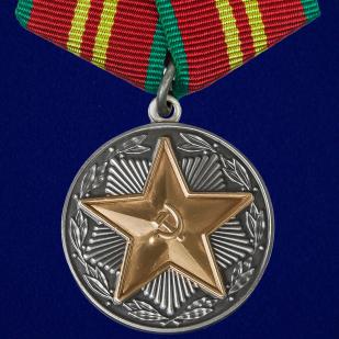 """Медаль """"За безупречную службу"""" ВВ МВД  СССР 2 степени"""