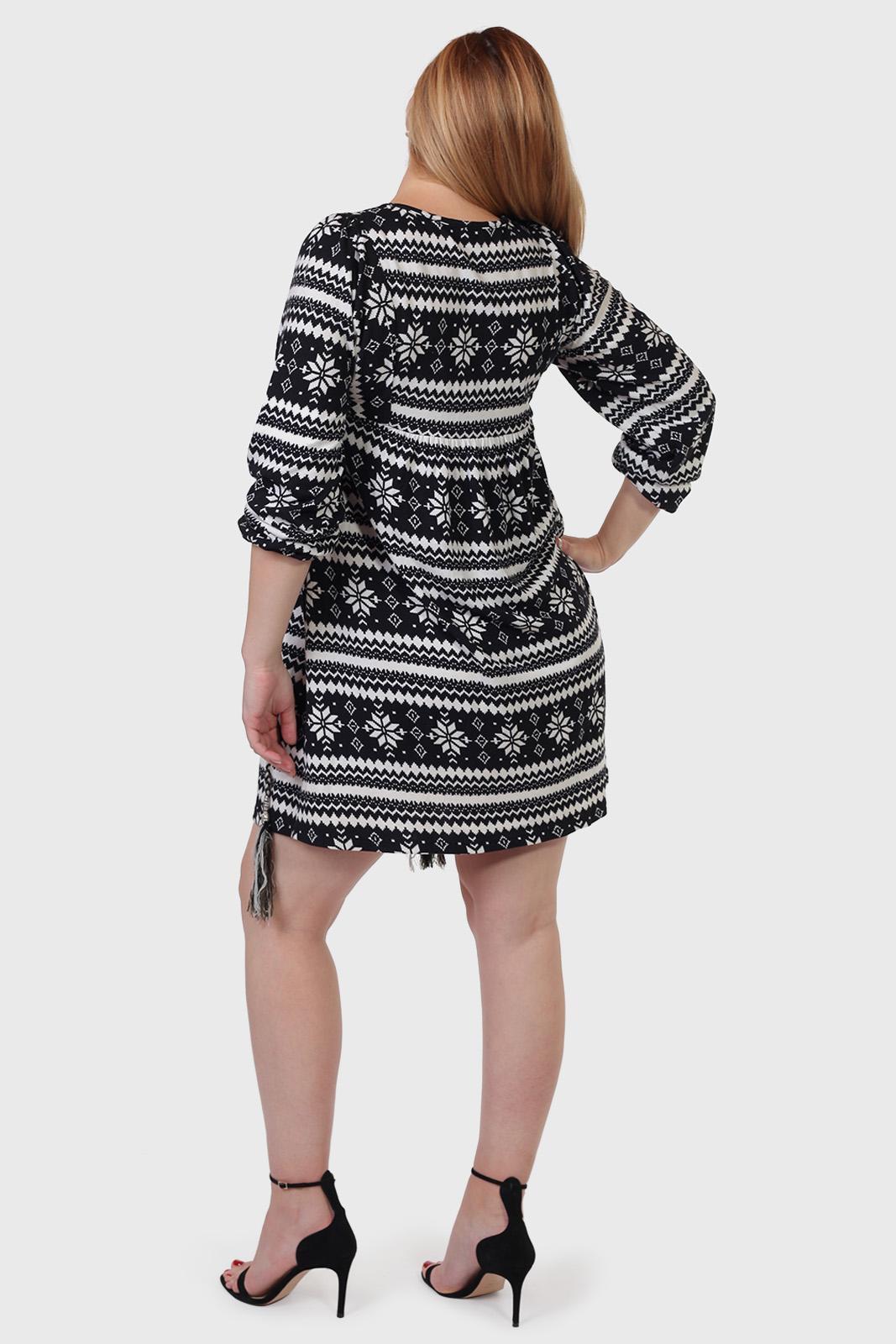 Колоритное платье-туника Courage.
