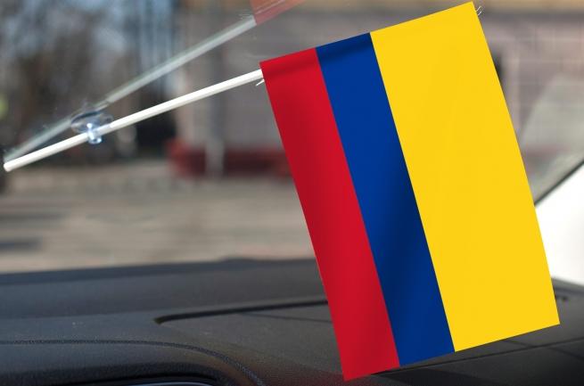 Колумбийский флажок с присоской