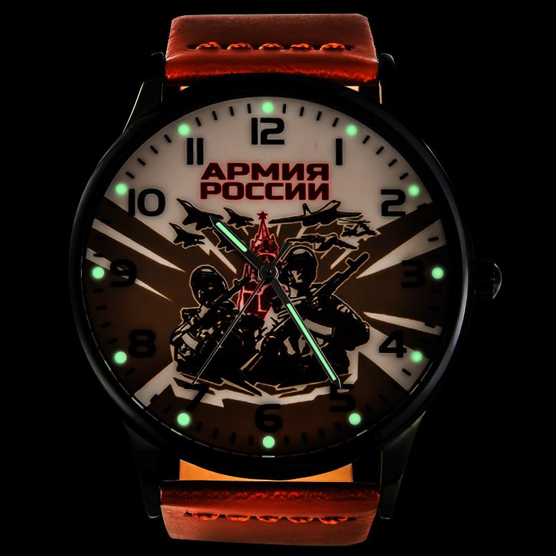 Командирские часы «Армия России» с подсветкой