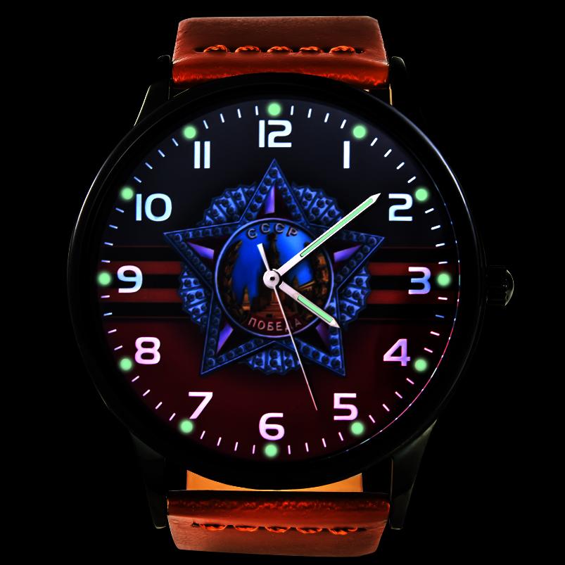 Командирские часы к юбилею Победы - тритиевая подсветка