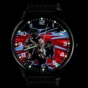 Командирские часы «Спецназ» - тритиевая подсветка