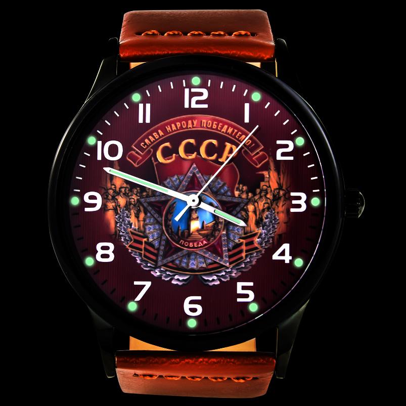Командирские часы «СССР» - тритиевая подсветка