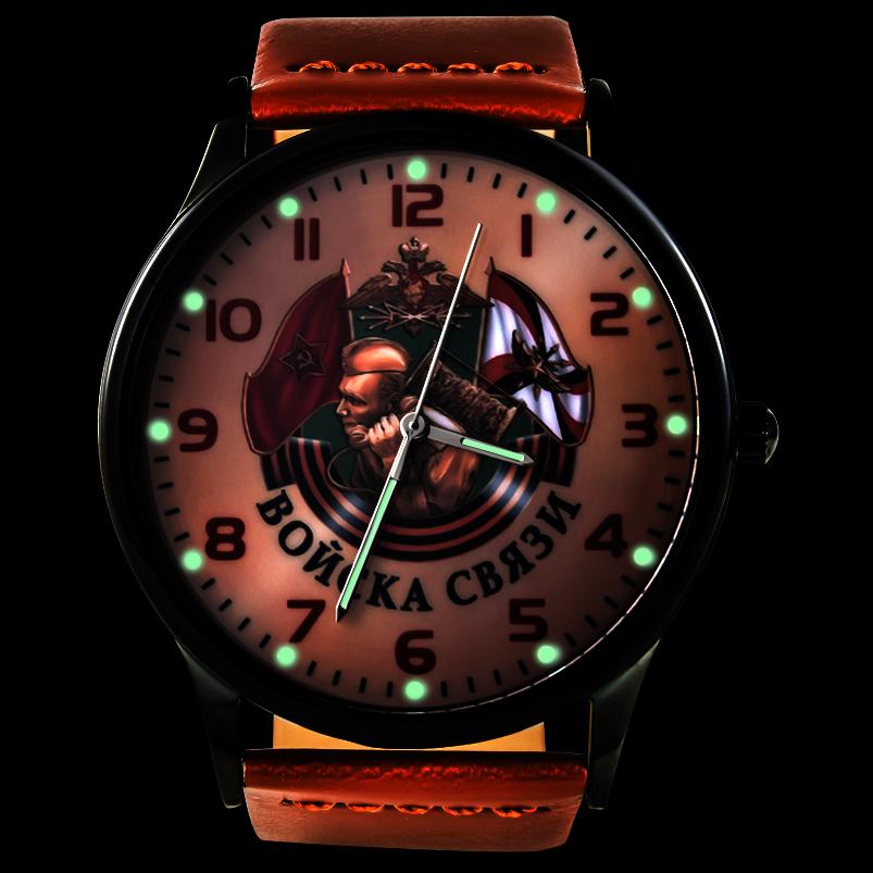Командирские часы «Войска связи» - тритиевая подсветка