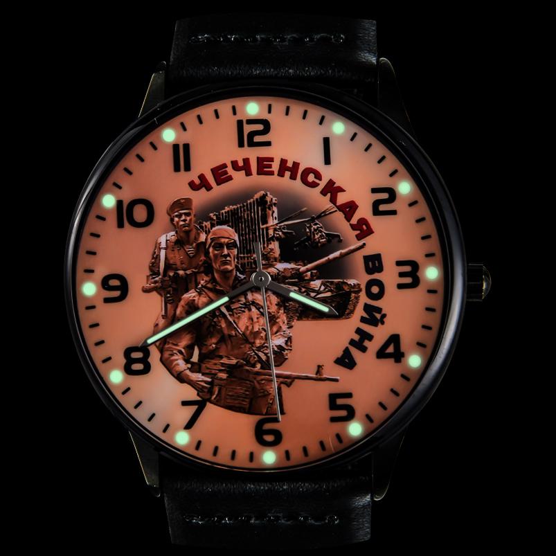 Командирские наручные часы «Чеченская война» с подсветкой