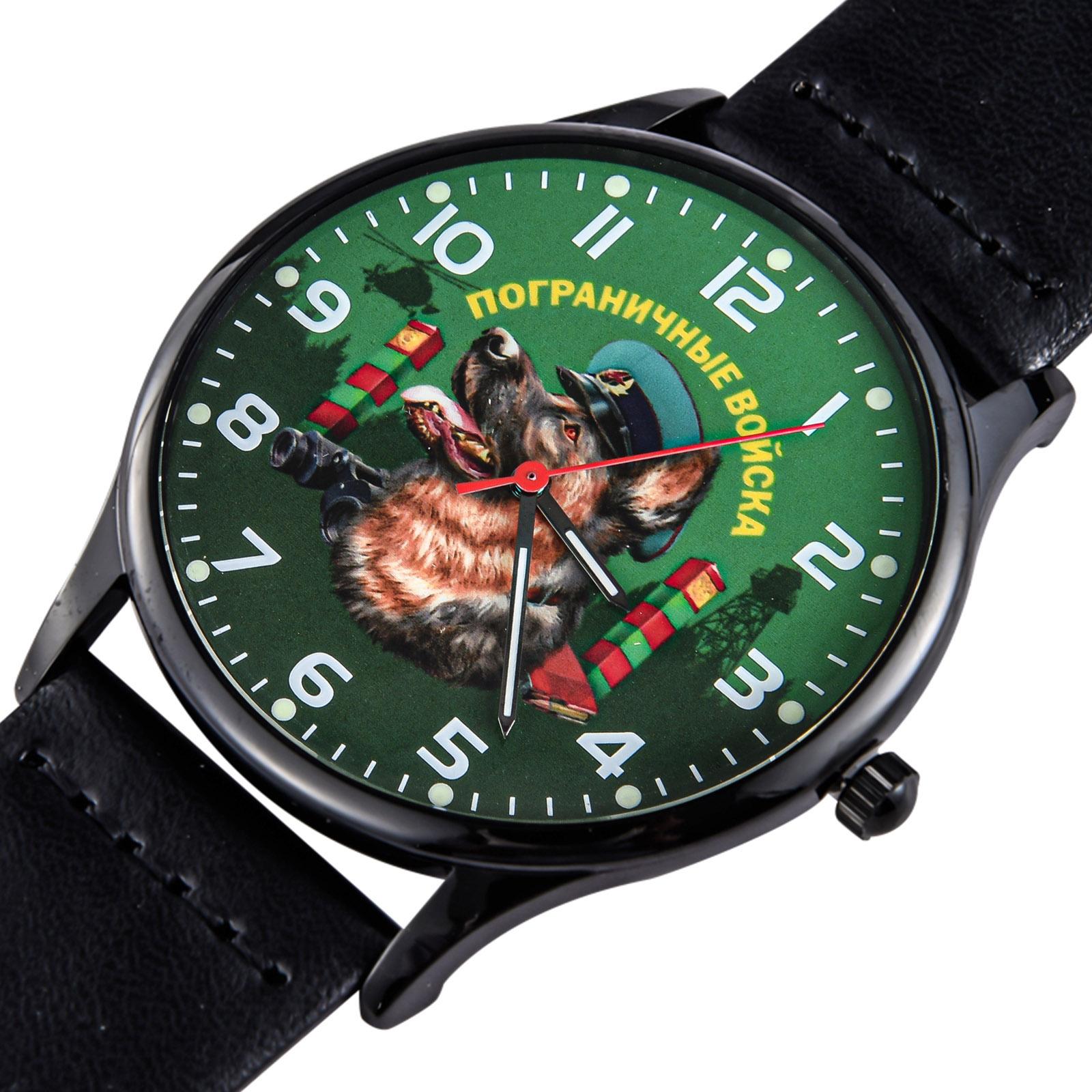 """Командирские наручные часы """"Пограничная овчарка"""""""