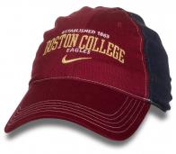 Комбинированная кепка BOSTON COLLEGE.
