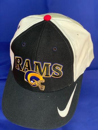 Комбинированная кепка с принтом RAMS