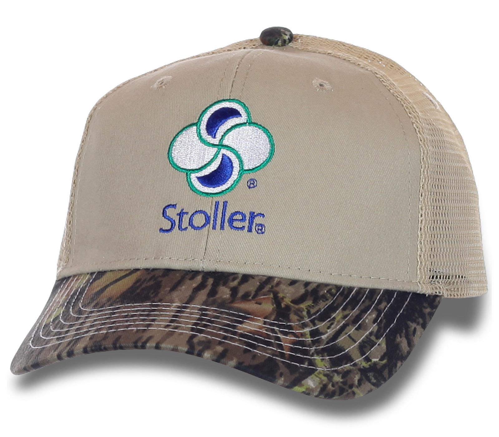 Комбинированная кепка Stoller.