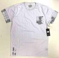 Комбинированная мужская футболка KROME