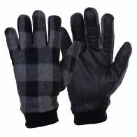 Комбинированные мужские перчатки с манжетами.
