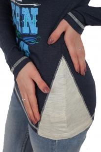 Комбинированный женский реглан Panhandle. Лучшее от стилей кантри, спорт и кэжуал. Когда модно и удобно – синонимы!