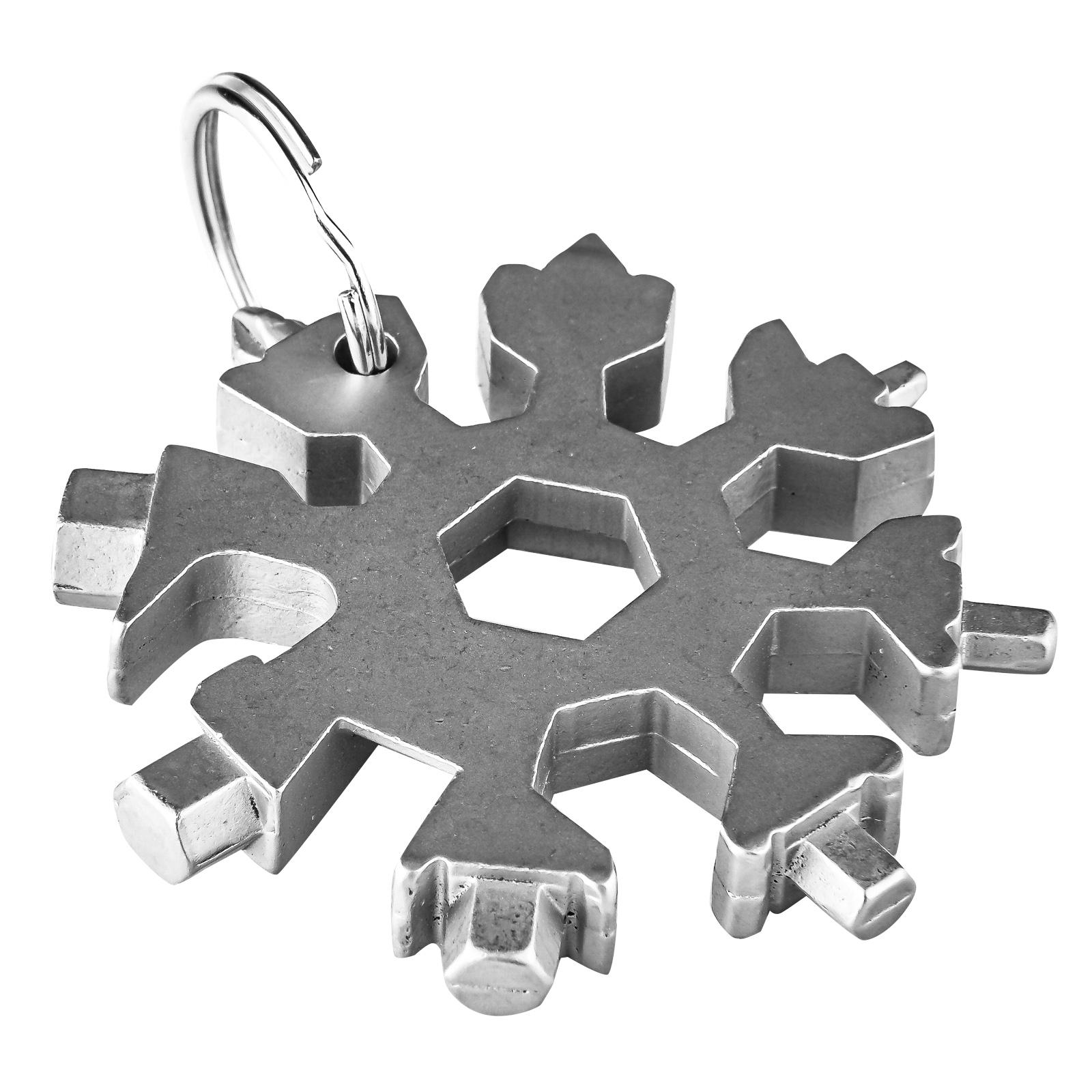 Комбинированный мультитул-снежинка 18-в-1
