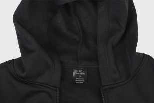 Комфортная мужская толстовка с символикой ВМФ СССР на спине и груди - купить в розницу