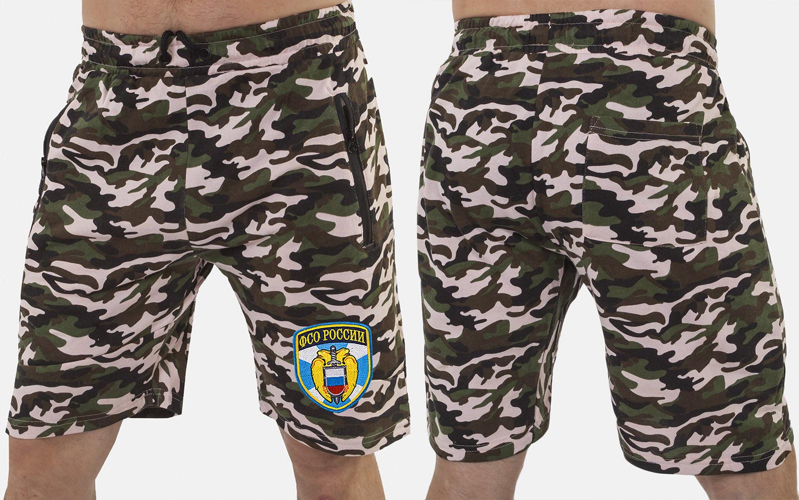 Комфортные надежные шорты с нашивкой ФСО - заказать в подарок