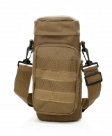 Компактная тактическая мужская сумка через плечо для термоса