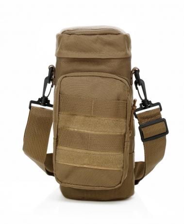 Компактная тактическая мужская сумка через плечо для термоса купить недорого