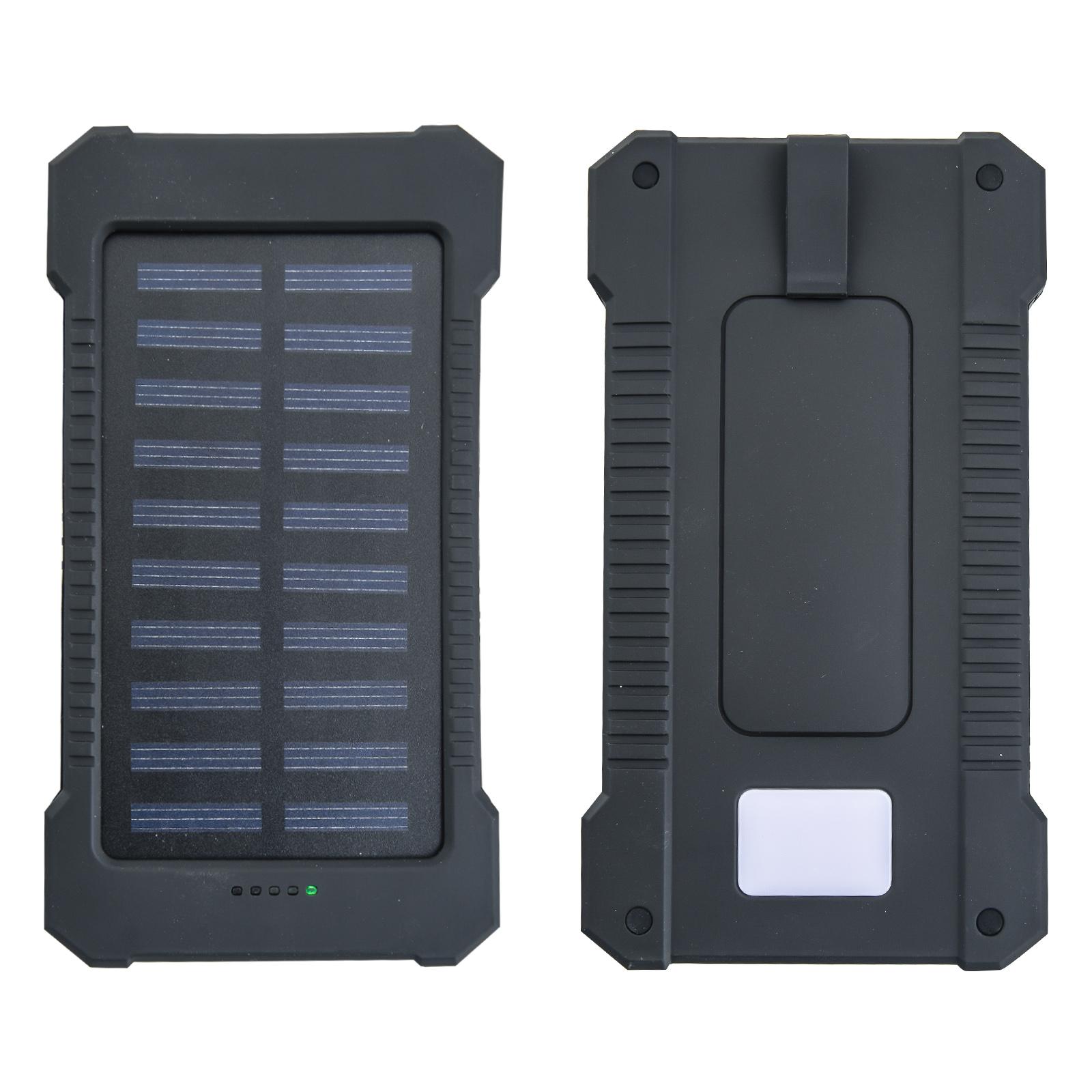 Компактный Power Bank Solar Eco 10000 mAh + компас и фонарь