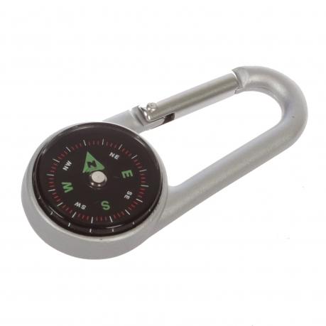 Карабин с компасом
