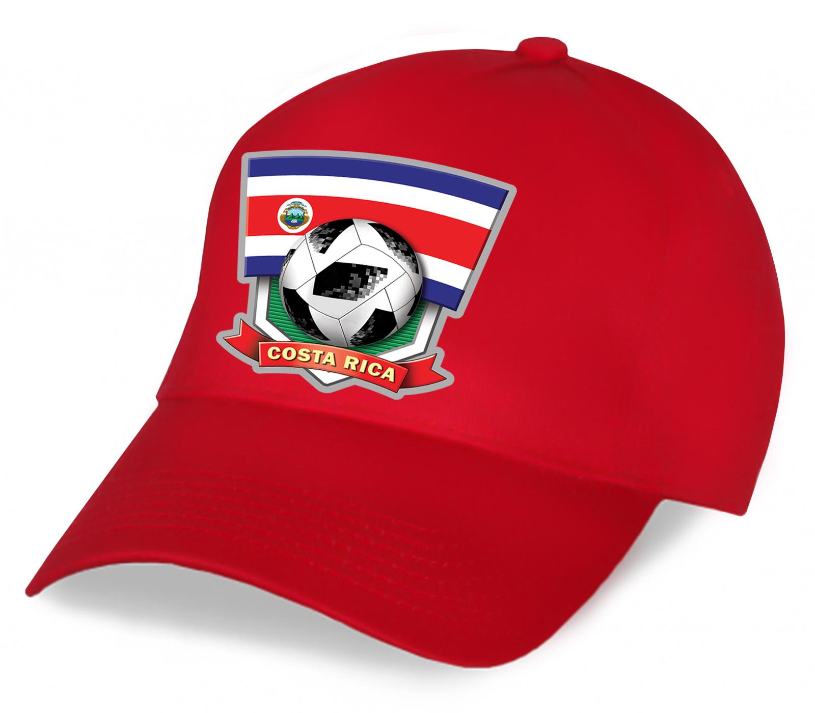 Бейсболка с символикой Коста-Рики