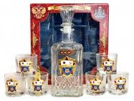 Подарочный комплект для спиртного ВМФ СССР