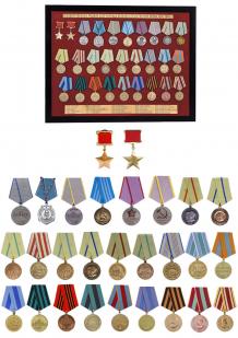 Планшет Медали СССР