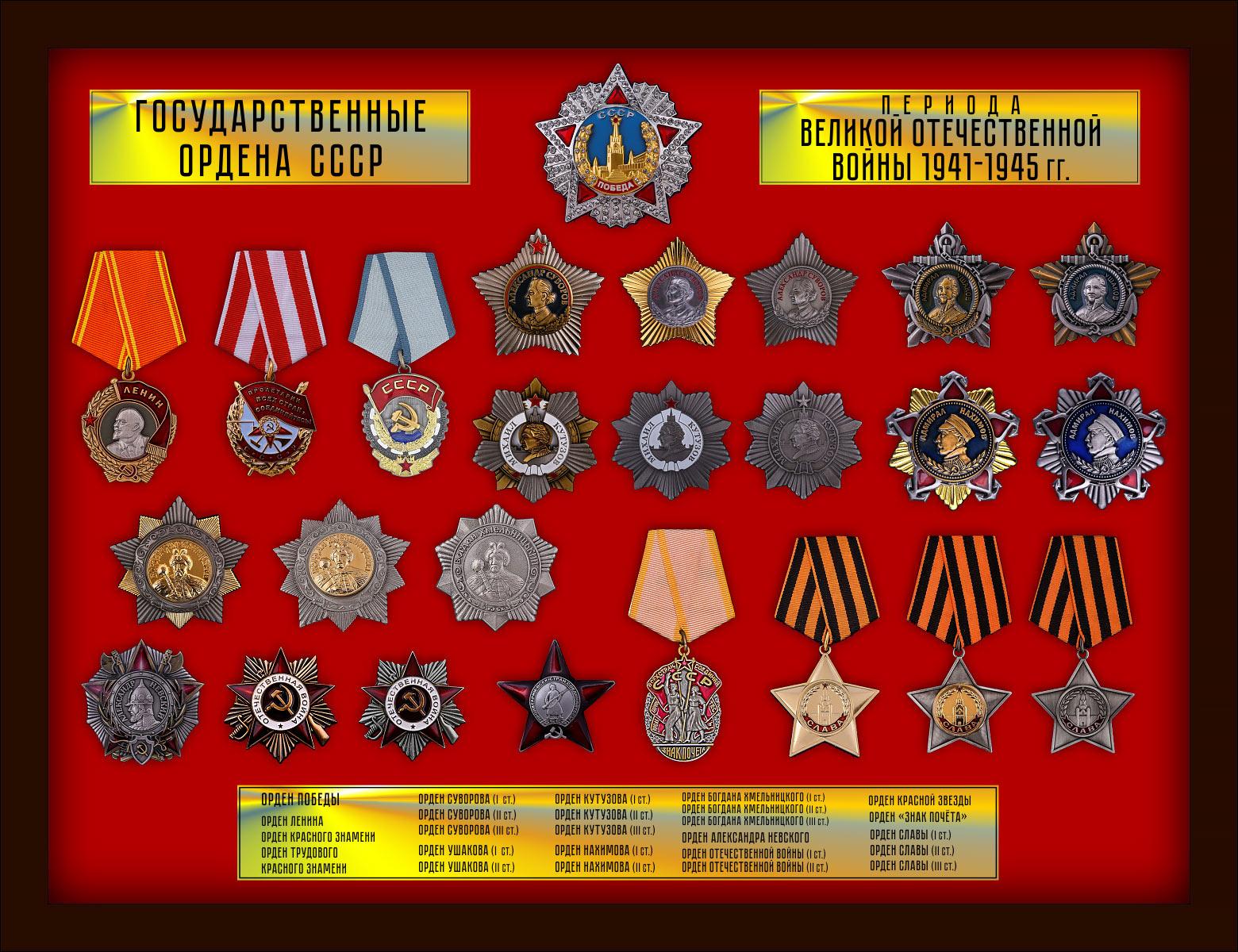 """Планшет """"Ордена СССР"""""""