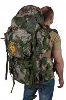 Контрактный рейдовый рюкзак спецназа и горных егерей с эмблемой МВД